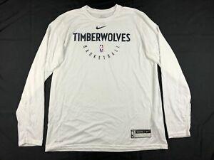 Minnesota Timberwolves Nike Long Sleeve Shirt Men's New Multiple Sizes
