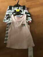 M&S Age 6-7 Years 4 Piece Set X2 Shorts X2 Vests Tops Bnwt Cotton Summer