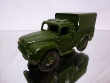 DINKY TOYS - 1:43 - NO= 641 ARMY 1 TON CARGOTRUCK   - VERY GOOD CONDITION