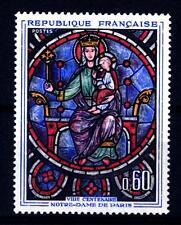 FRANCIA - Quadri di Francia - 1964 - Opere d'arte - Vetrata di Notre-Dame