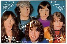 AC/DC ++Autogramme++ ++Rock Legende 70er Jahre++