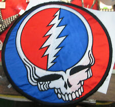 GRATEFUL DEAD COLLECTIBLE RARE PATCH EMBROIDED GARCIA SUPER LARGE