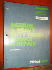 1987-93 MITCHELL DOMESTIC MEDIUM HEAVY TRUCK ELECTRICAL SERVICE & REPAIR MANUAL