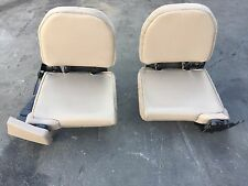 98 99 00 01 02 03 04 05 Ford Ranger Left & Right Rear Folding Seats Tan OEM
