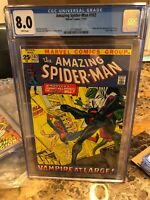 Amazing Spider-man #102, VF 8.0 CGC, 2nd Appearance and Origin Morbius