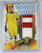 2019-20 Gold Standard White Gold Patch Iker Casillas #37/49 Spain