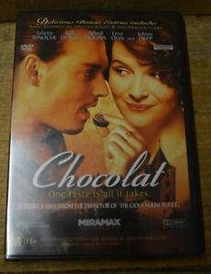 Chocolat (DVD 2015) - PAL 4 - Judi Dench, Johnny Depp, Carrie Anne Moss - Sealed