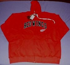 Detroit Red Wings Hoodie 3XL Stitched Full Zip NHL Specialty Double Logos