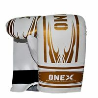 1xHeavy Duty 6oz Kids Boxing Gloves Junior Punch bag Mitts MMA Training Sparring