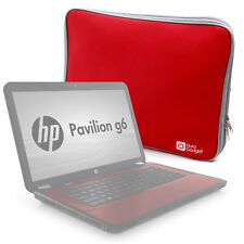 Water Resistant Red 16 Inch Neoprene Notebook Case / Cover For HP Pavilion G6