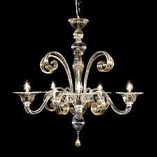 Cometa ceiling light in Crystal Graniglia gold