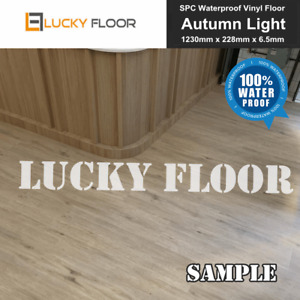 6.5mm SPC Vinyl Flooring Autumn Light Sample Water Proof Waterproof Floorboard