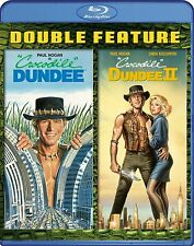 Crocodile Dundee 1 + 2 (Paul Hogan) II Blu-ray Reg-B