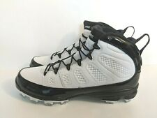 Nike Jordan IX 9 RETRO MCS Derek Jeter Re2pect AA1264-100 Baseball Cleats Sz 13