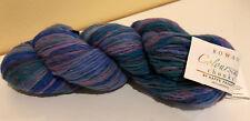 NEW Yarn colourscape Chunky 433 Frosty Rowan Kaffe Fassett wool 100 g lot 76401