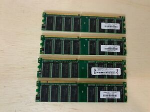 4GB KIT 4X 1GB Apple iMac G5 Power Mac G5 DESKTOP RAM - DDR DIMM, Q - Set of (4)