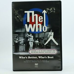 The Who Who's Better Who's Best Rock N Roll DVD GC