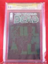 Image Walking Dead: The Governor Special #1 CGC SS 9.6 Charlie Adlard GREEN FOIL