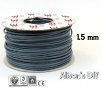 1.5 mm Blue Grey Single Core Cable 6181Y Double Insulated Light Wire