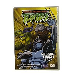 Teenage Mutant Ninja Turtles: Shredder Strikes Back DVD (Region 4, 2003)