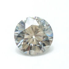 1.12CTS 6MM VVS1 VG ROUND UNTREAT SILVER WHITE LAB CERTIFIED LOOSE DIAMOND