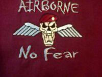 PARACHUTE REGIMENT AIRBORNE NO FEAR POLO SHIRT