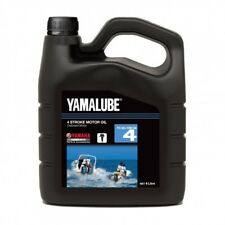 YAMAHA Genuine Yamalube 4 Stroke Outboard Motor Oil 10W-30 4 Litre *NEW* Marine