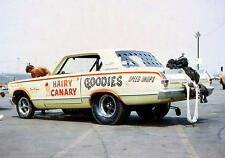 """""""Hairy Canary"""" Early Funny Car 1/25th model car decal"""