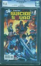 Suicide Squad 1 CGC 9.6 Harley Quinn Deathstroke Roberts Cover Top Movie no 8