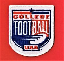 COLLEGE FOOTBALL - USA EMBROIDERED PATCH