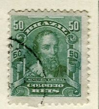 BRAZIL; 1906 early Portraits issue fine used 50r. value