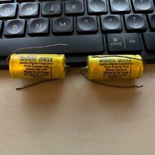 Audio Note Pure Copper Foil PIO Capacitors 0.1 uF 630 VDC New 2 Pcs