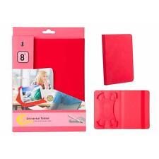 Fundas y carcasas Universal color principal rojo de piel para teléfonos móviles y PDAs