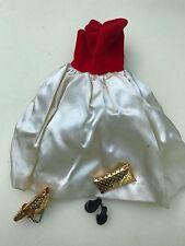 VINTAGE BARBIE Silken Flame, belt, bag, shoes