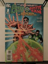 Green Lantern Plastic man Weapons of Mass Deception #1 Febuary 2011
