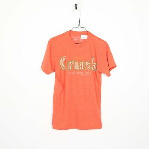 SAVVY Orange Crush Graphic T Shirt Orange | Small S