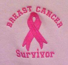 Breast Cancer Survivor Hoodie 3XL Awareness Ribbon Pink Sweatshirt New