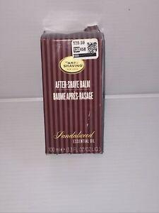 The Art of Shaving After-Shave Balm Sandalwood Essential Oil 3.3 oz.