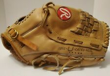 "New listing Rawlings RSGXL Super Size 14"" Softball Glove RHT Deep Well Pocket Mitt Baseball"