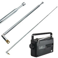 Radio Telescopic Antenna Head Antenna Rod Antenna For Home Accessory Practical