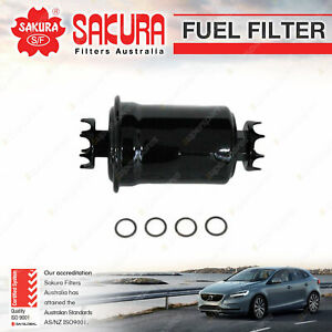 Sakura Fuel Filter for Mitsubishi Lancer C62A C63A C73A CB CC GLX LANCER GSR EVO
