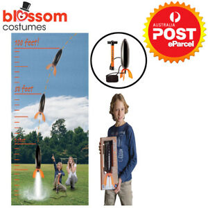 NGH17 Liquifly Deluxe Water Powered Rocket Flies Up to 30m Science Educational