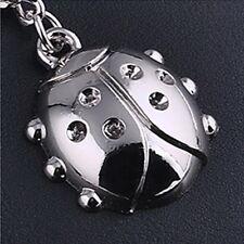 New Gift Key Chains Keychain Keyfob Keyring Ladybird Bug Cute Charm Delicate