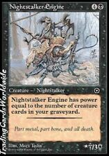 Nightstalker Engine // EX // Portal second age // allemand. // Magic the Gathering