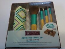Ecotools Limited Edition Boho Luxe Travel 5 Pc Makeup Brush Kit With Gift Box