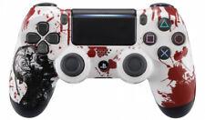 """Zombie"" Ps4 Custom UN-MODDED Controller Exclusive Unique Design"
