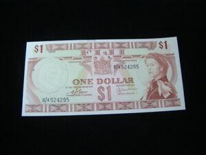 Fiji 1974 $1.00 Banknote Gem Uncirculated Pick #71b