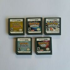 Various Pokemon NDS Game Cartridges for Nintendo DS Console - Local Seller