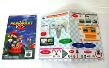 Nintendo 64 Mario Kart *MANUAL & operation card ONLY*