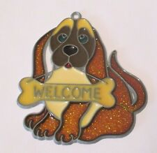 WELCOME DOG SUNCATCHER (ANIMAL SUNCATCHERS)